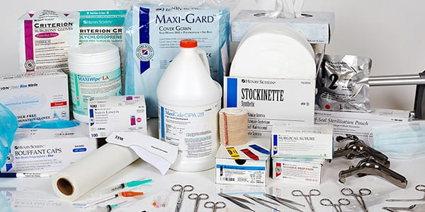List of Medical Supplies